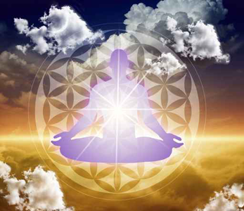 Flower of Life Meditating